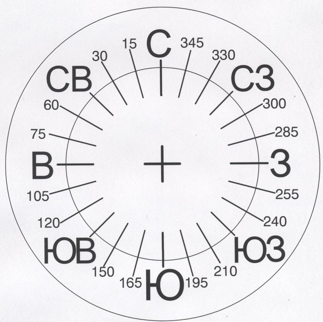 Как сделать компас из бумаги своими 111